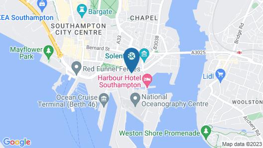 Southampton Ocean Village Apartment Map