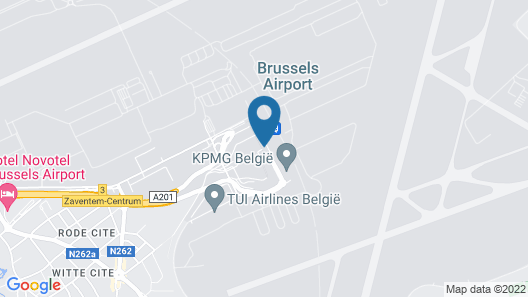 Sheraton Brussels Airport Hotel Map