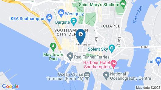 Charles Hope Apartments Southampton Map