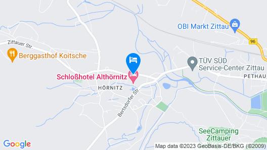 Schlosshotel Althörnitz Map