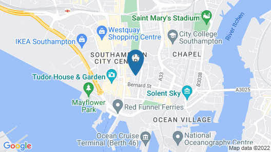Austen House - Campus Accommodation Map