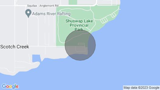 Kee Kasa Bonita - Shuswap Vacations and Sledding Accommodation Map