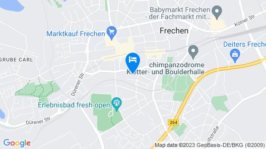 Hotel Frechener Hof Map