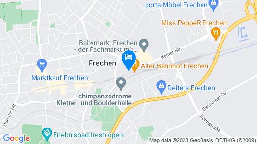 Hotel Alexander Köln Frechen Map