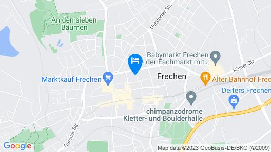 Apartments Frechen Map