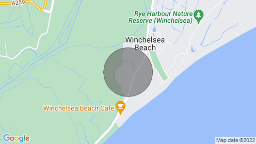 Four Aces Plot 1 at winchelsea beach Map