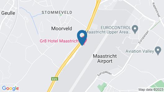 Tulip Inn Maastricht Airport Map