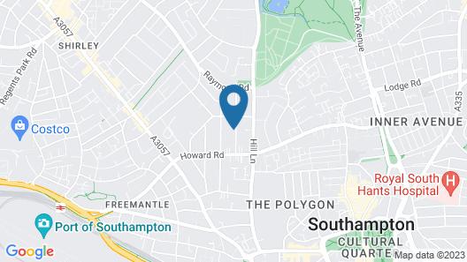 Thornbury Apartments Map