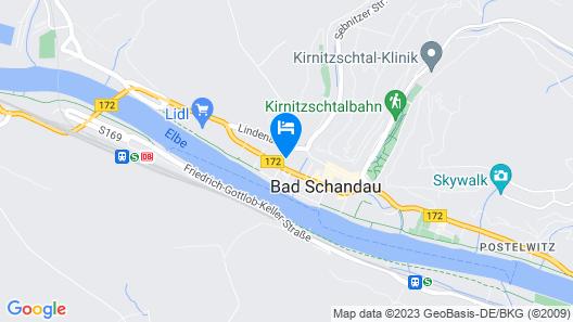 Apparthotel Steiger Bad Schandau Map