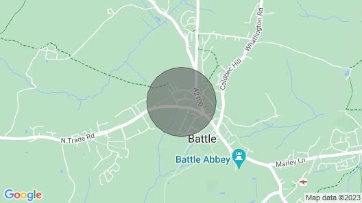 Amelia Cottage Map