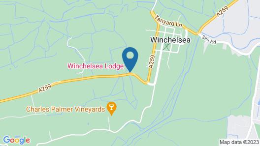 Winchelsea Lodge Map