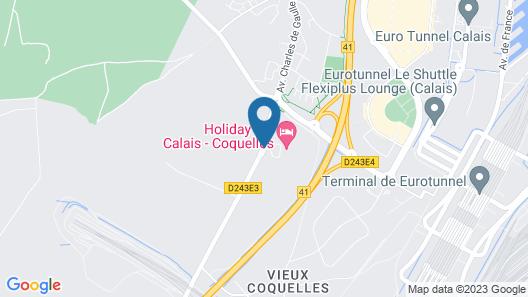 Holiday Inn Calais-Coquelles Map