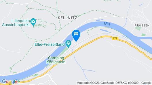 Campingplatz am Treidlerweg Map