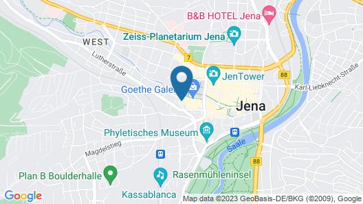 Steigenberger Esplanade Jena Map