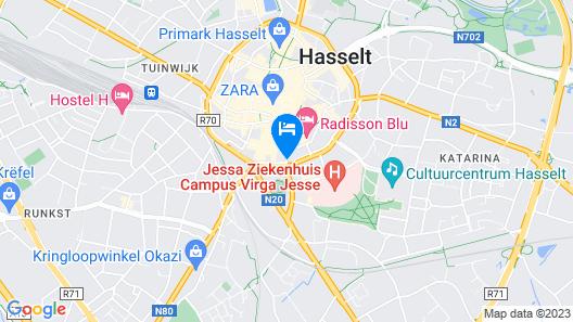 HasHotel Map