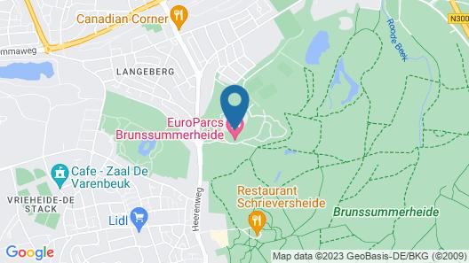 EuroParcs Resort Brunssummerheide Map
