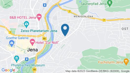 Ferienwohnung Friedrich Schiller Map