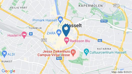 Hotel Hemelhuys Map