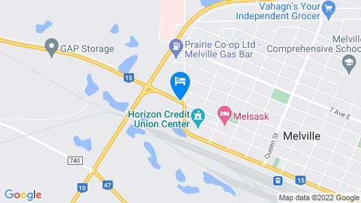 Melville Country Inn Map