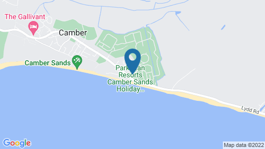 Camber Sands Holiday Park Map