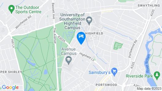 Highfield University House Map
