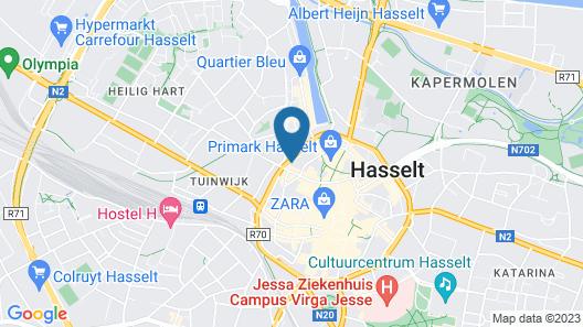 Holiday Inn Express Hasselt, an IHG Hotel Map