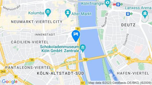 Hotel Lyskirchen Map