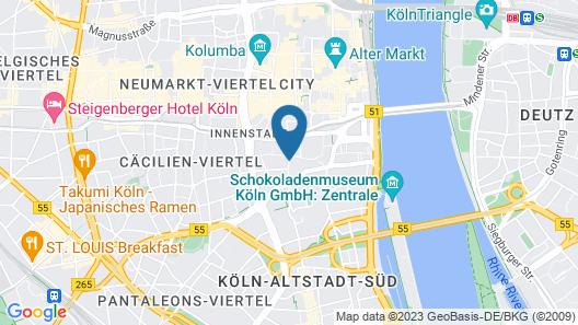 Trip Inn Hotel Ariane Map