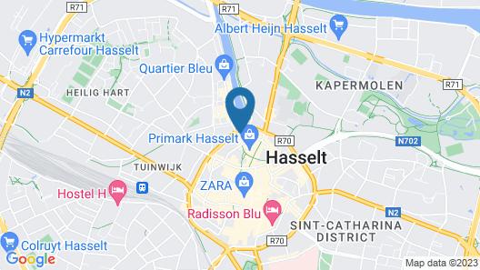 Holiday Inn Hasselt, an IHG Hotel Map
