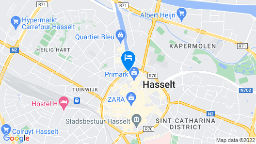 Holiday Inn Hasselt Map