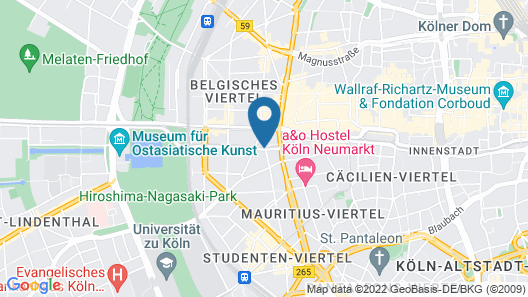Steigenberger Hotel Köln Map
