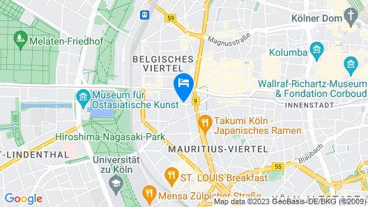 Steigenberger Hotel Köln Map