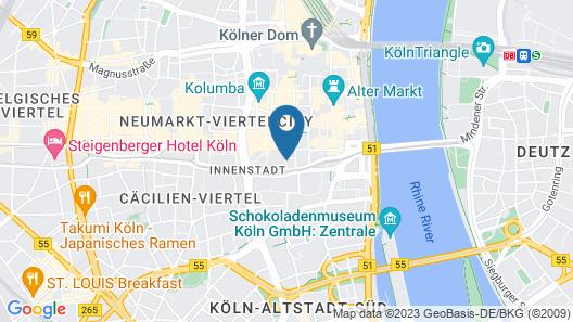 Hotel am Augustinerplatz Map