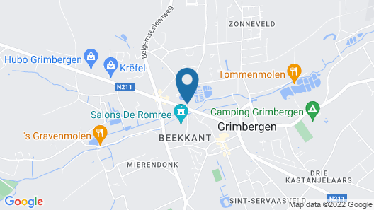 Thermae Hotel Grimbergen Map
