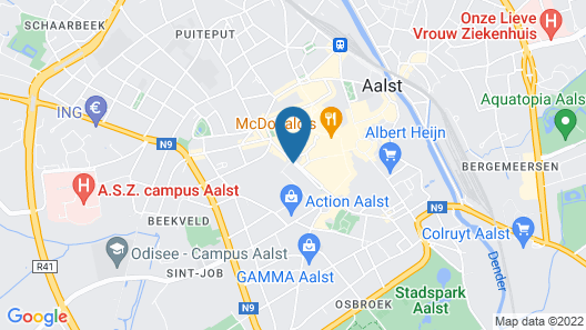 Hotel Royal Astrid Aalst Map