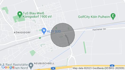 Tova Cologne - Großzügige Wohnung mit Viel Komfort im Kölner Westen Map