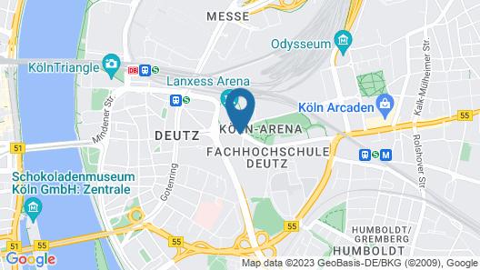 Hotel Stadtpalais Map
