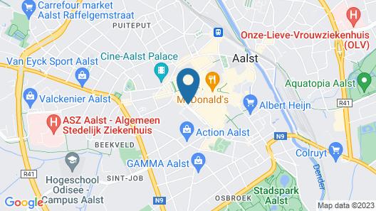 Keizershof Hotel Map
