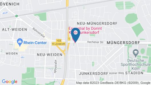 Essential by Dorint Köln-Junkersdorf Map