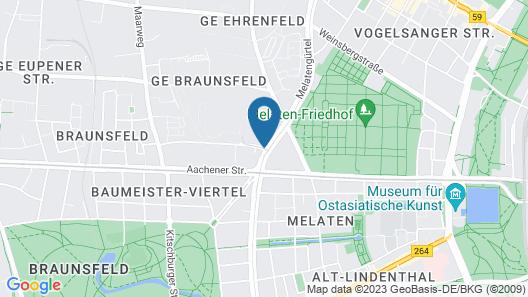 AMERON Köln Hotel Regent Map