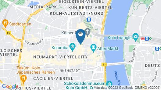 Callas Hotel am Dom Map
