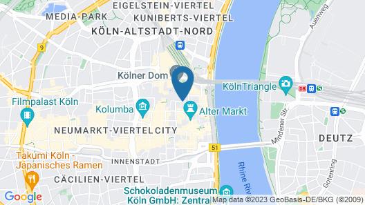 CityClass Hotel Europa am Dom Map