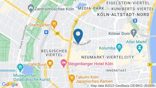 Lindner Hotel City Plaza Map