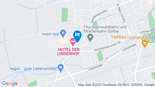 Hotel Der Lindenhof Map