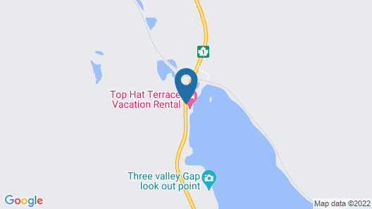 Top Hat Terrace Vacation Rental Map