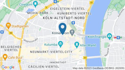 a&o Köln Dom Map
