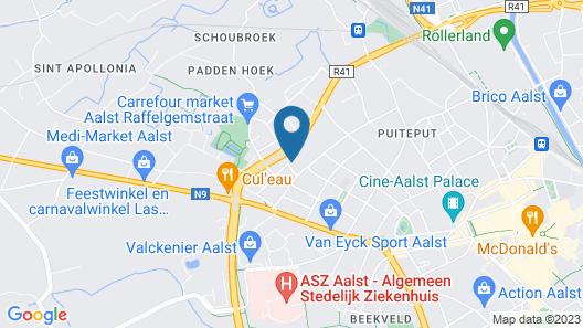 B&B Hof Beygaert Map