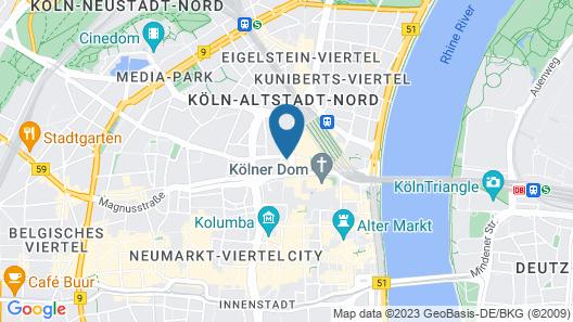 Boutique 003 Köln am DOM Map