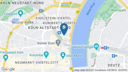 Wyndham Köln Map