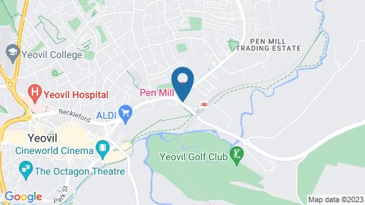 Pen Mill Hotel Map